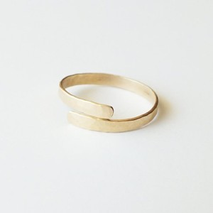 gold-hammered-ring